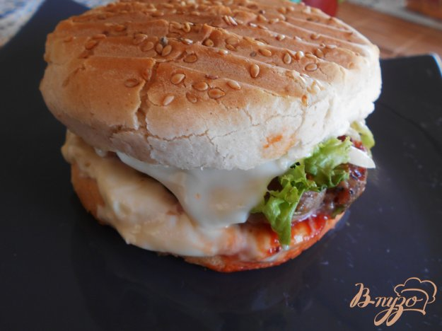 гамбургер в духовке рецепт с фото
