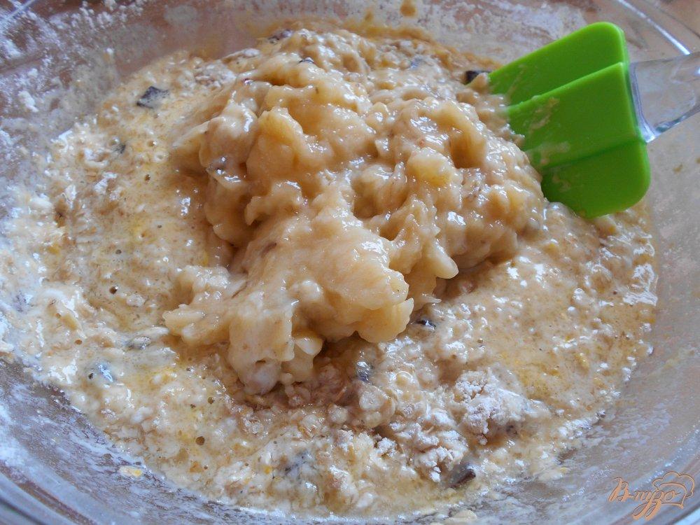 Фото приготовление рецепта: Печенье кокосово-банановое шаг №2