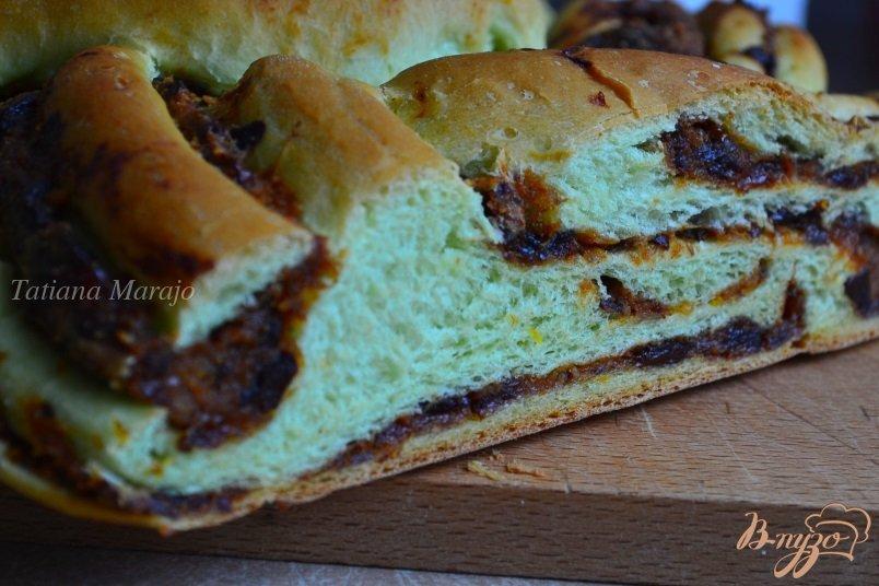 Фото приготовление рецепта: Сдобные пироги из мятного теста шаг №17