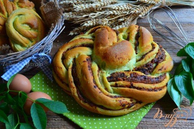 фото рецепта: Сдобные пироги из мятного теста