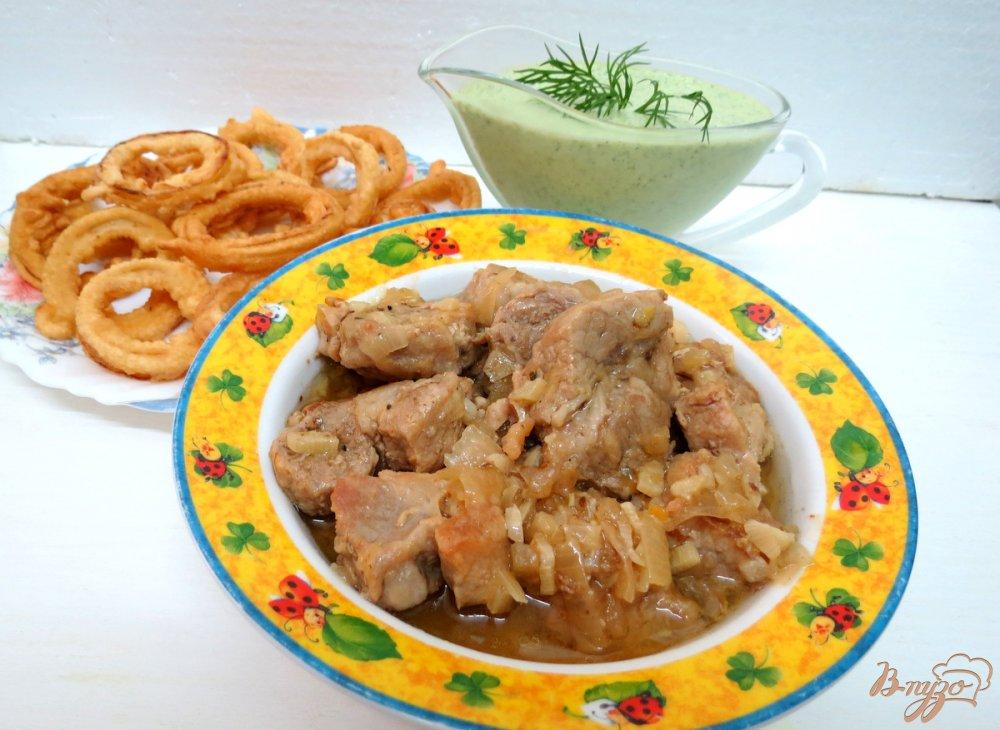 Фото приготовление рецепта: Свинина пряная шаг №7