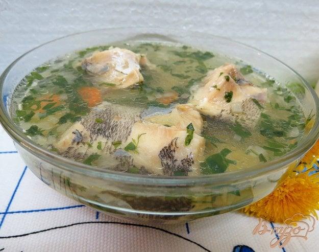 фото рецепта: Суп с нототенией и шпинатом