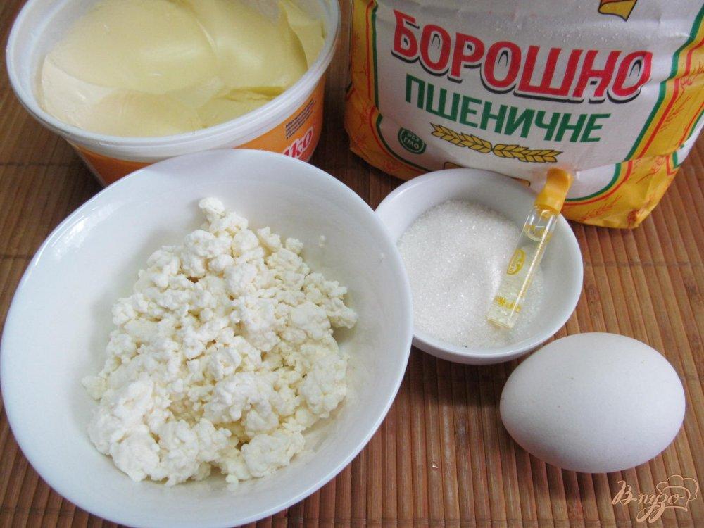 Фото приготовление рецепта: Маленькие творожные булочки шаг №1