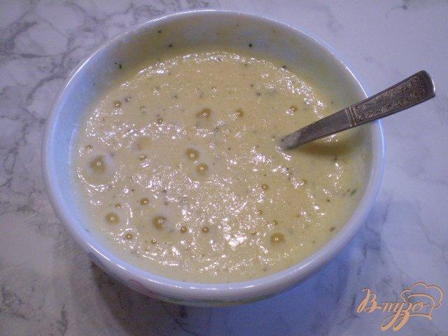 Фото приготовление рецепта: Универсальный кляр для овощей и мяса шаг №6