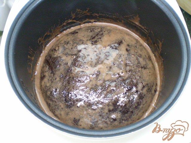 Фото приготовление рецепта: Шоколадное кухэ шаг №13