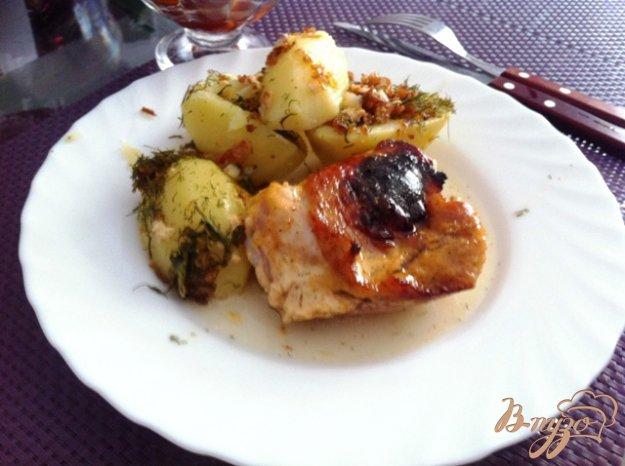 фото рецепта: Куриные бедрышки в майонезе и мёде