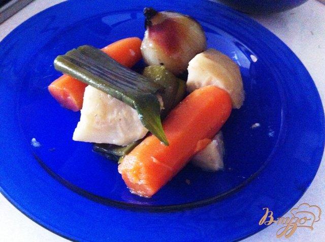 Фото приготовление рецепта: Томатаный суп шаг №4