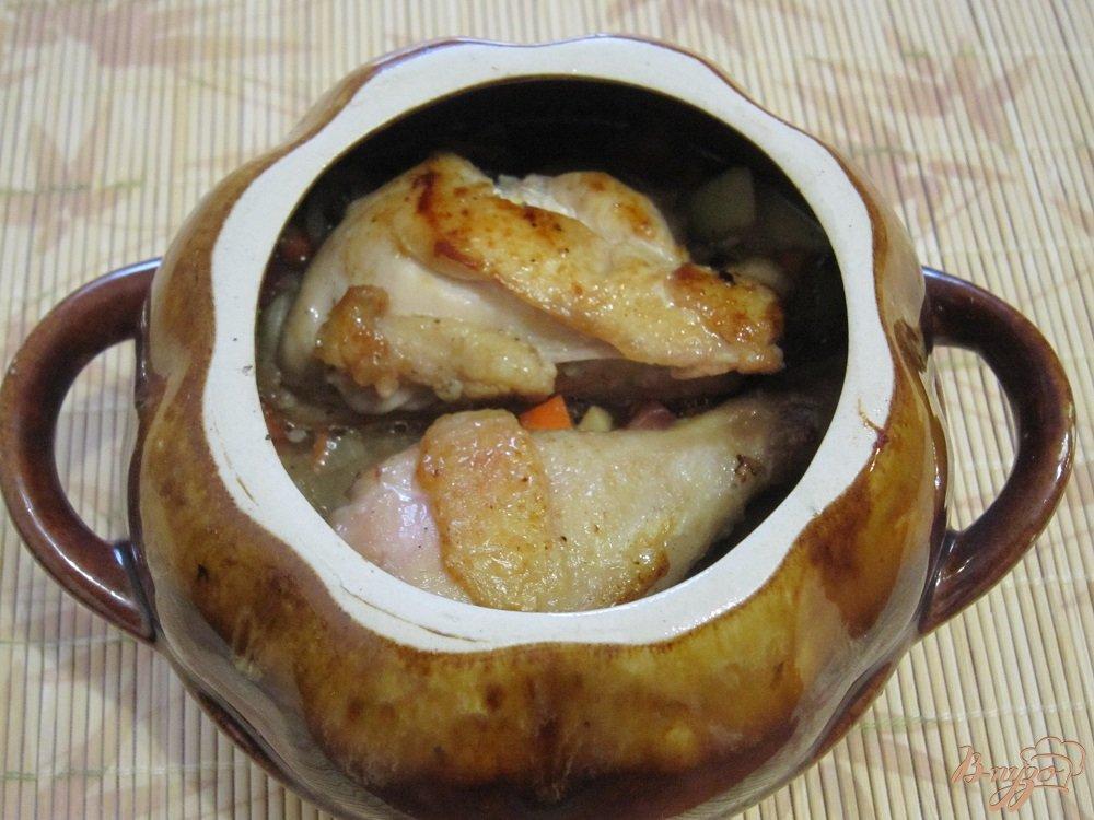 Фото приготовление рецепта: Цыпленок в духовке шаг №7