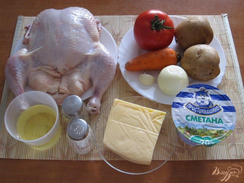 Фото приготовление рецепта: Цыпленок в духовке шаг №1