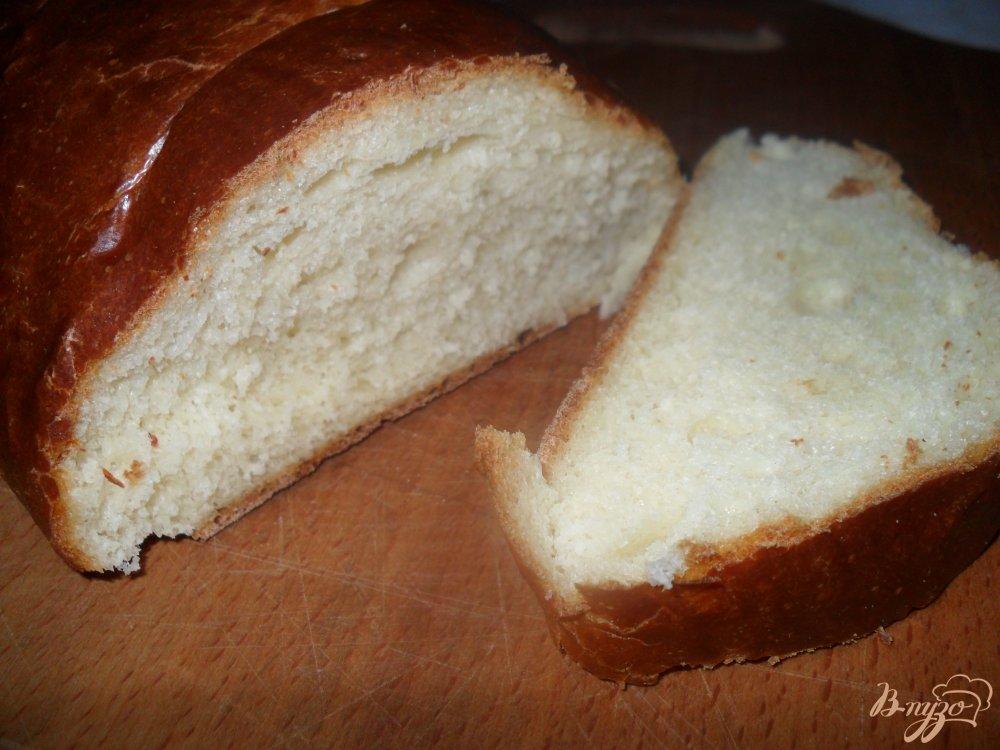 Фото приготовление рецепта: Мягенький батон на кефире шаг №7