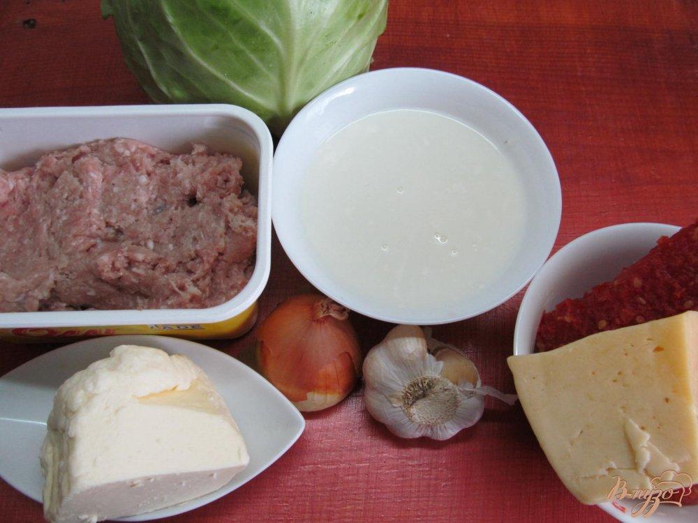 Фото приготовление рецепта: Лазанья из капусты шаг №1