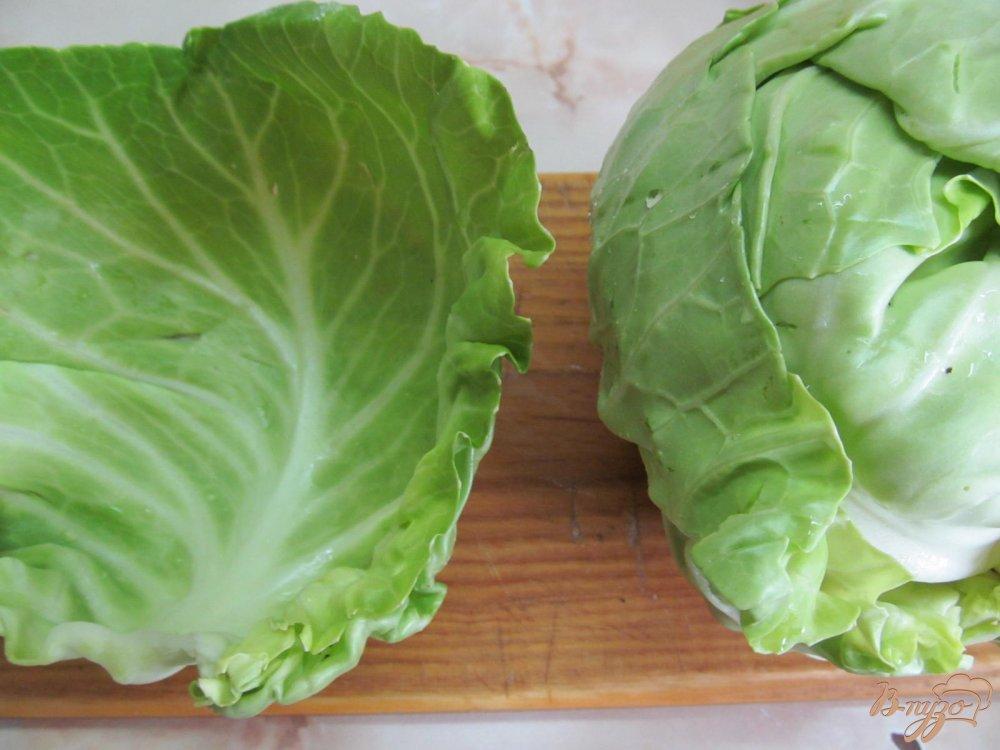 Фото приготовление рецепта: Лазанья из капусты шаг №6