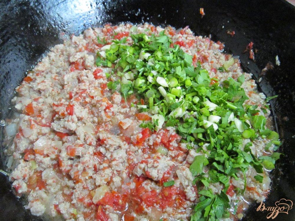 Фото приготовление рецепта: Лазанья из капусты шаг №7