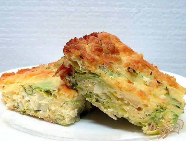 фото рецепта: Пирог с молодой капустой