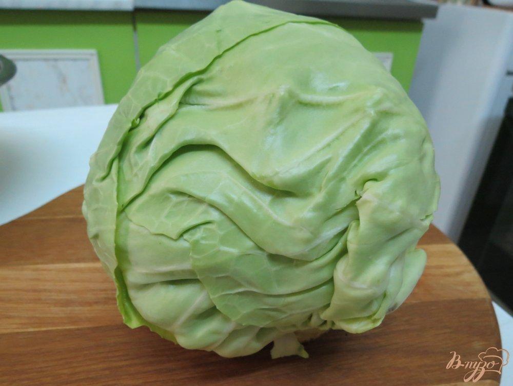 Фото приготовление рецепта: Пирог с молодой капустой шаг №2