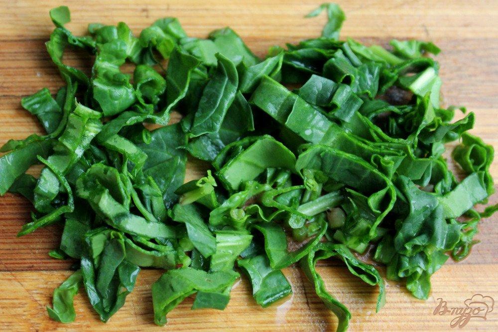 Фото приготовление рецепта: Мясной салат с нутом шаг №3