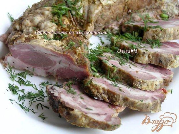 фото рецепта: Запеченный свиной карбонад