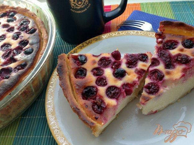 фото рецепта: Пирог с вишнями