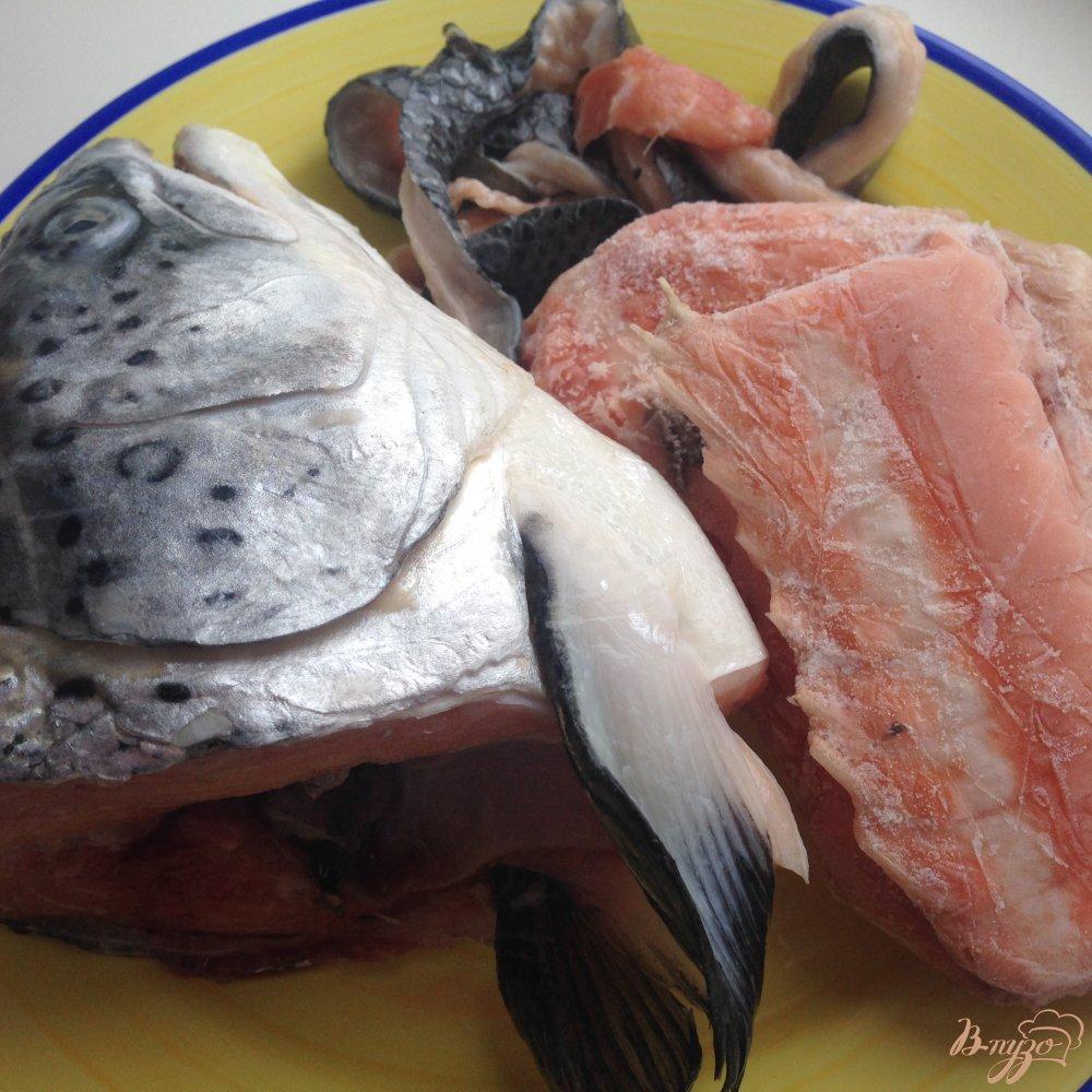 Фото приготовление рецепта: Финский суп из лосося  (Lohikeitto) шаг №2