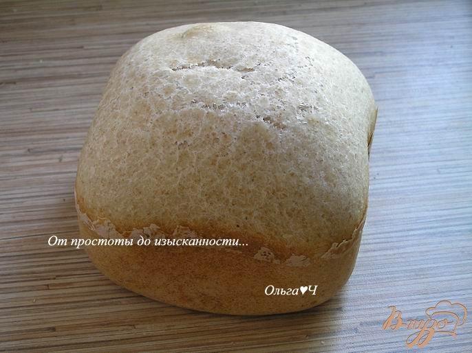 Фото приготовление рецепта: Пшеничный хлеб с ржаными отрубями шаг №5