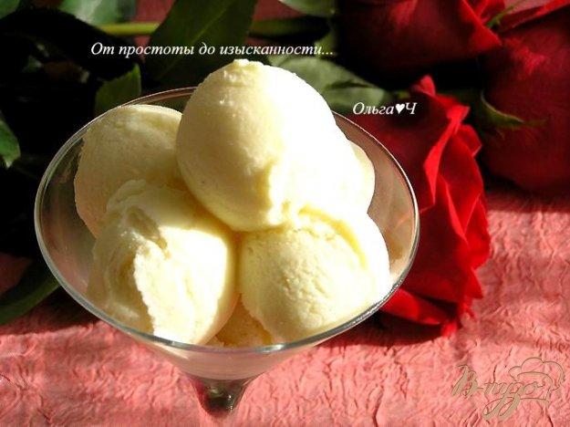 фото рецепта: Ванильное мороженое из заварного крема