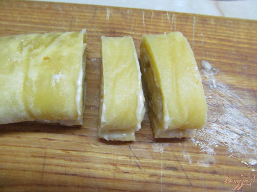 Фото приготовление рецепта: Банановые пирожные шаг №10