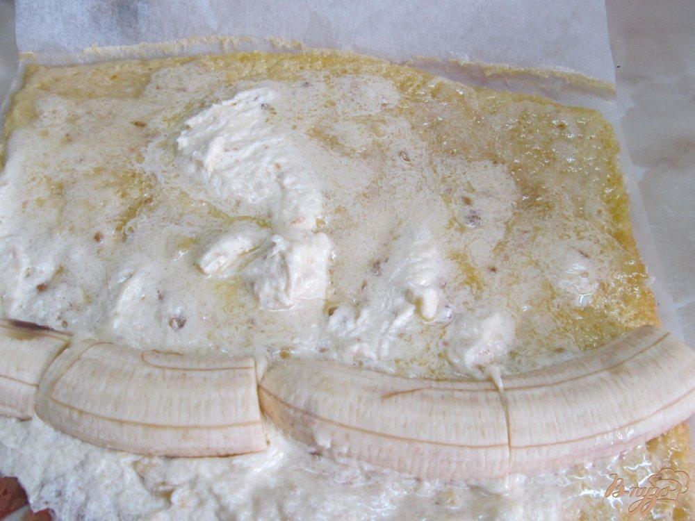 Фото приготовление рецепта: Банановые пирожные шаг №8