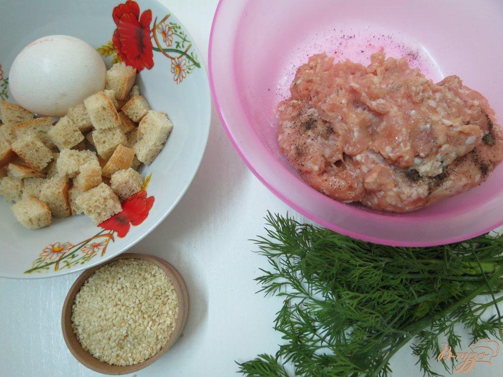 Фото приготовление рецепта: Мясные закусочные *леденцы* шаг №1