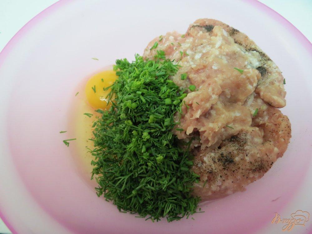 Фото приготовление рецепта: Мясные закусочные *леденцы* шаг №4