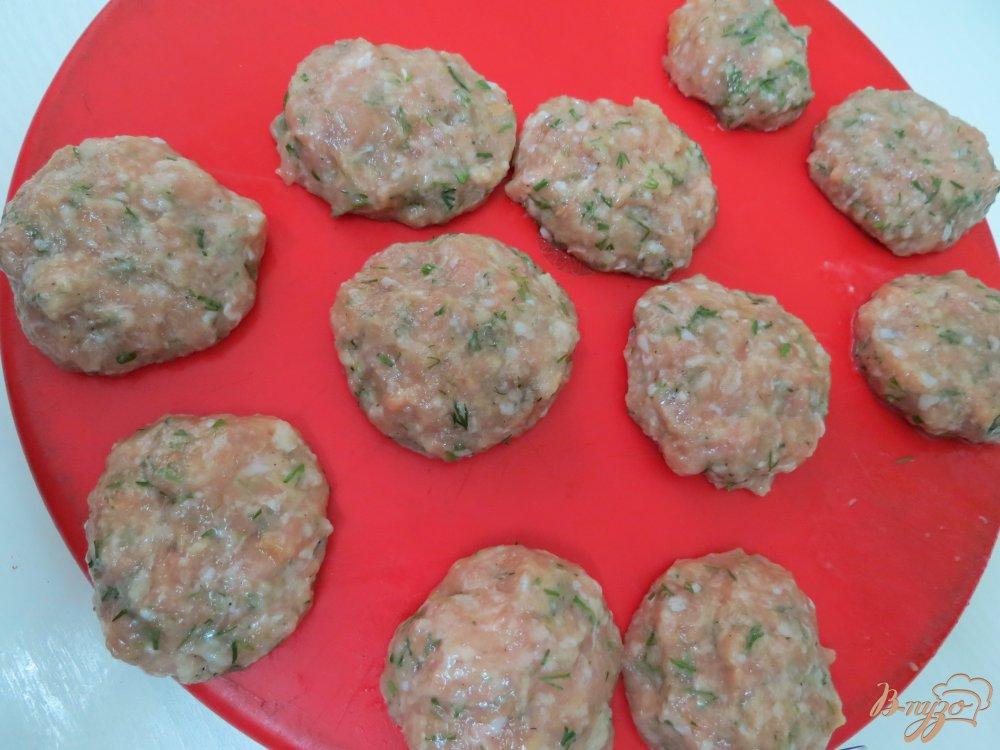 Фото приготовление рецепта: Мясные закусочные *леденцы* шаг №6
