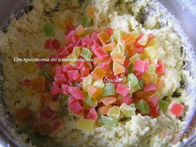 Фото приготовление рецепта: Праздничные лимонные кексы шаг №4