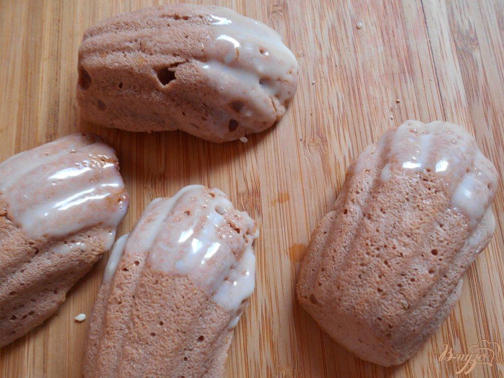 Фото приготовление рецепта: Мадлены шоколадные шаг №9