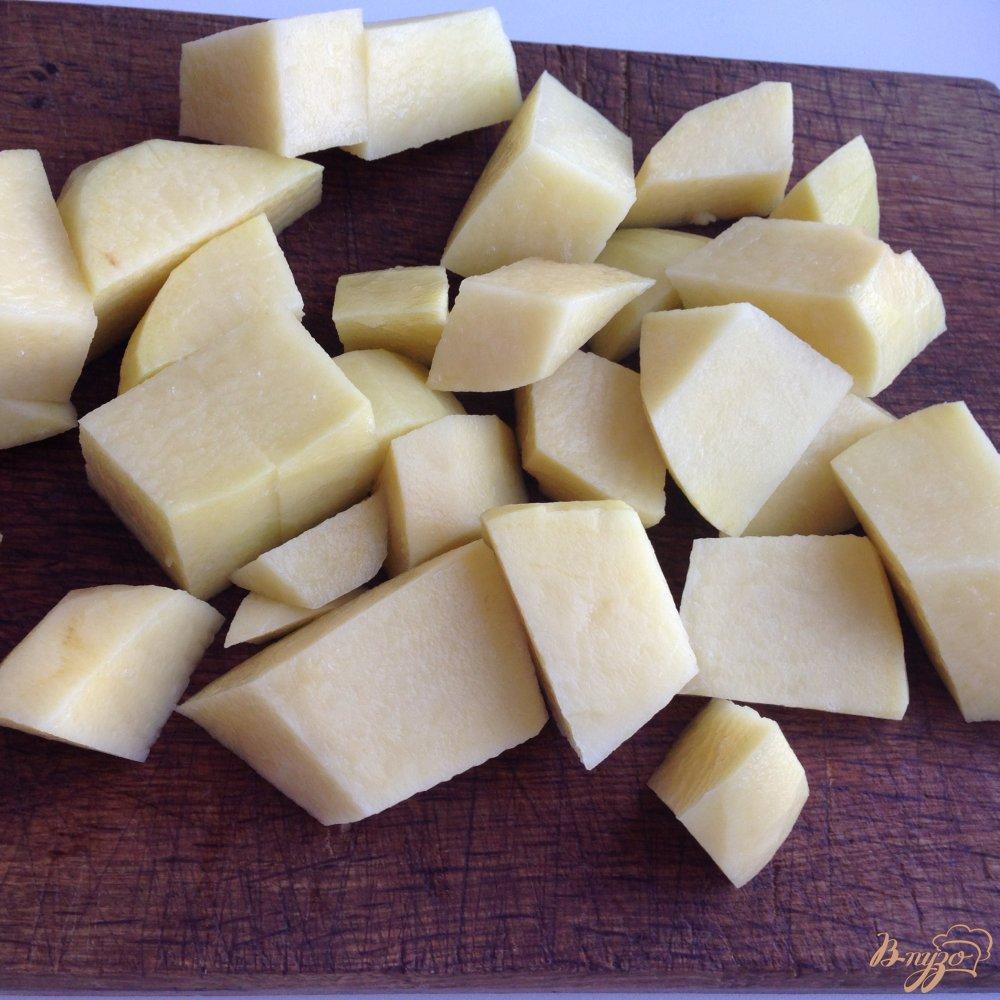 Фото приготовление рецепта: Щавелевый суп с домашней курицей шаг №3