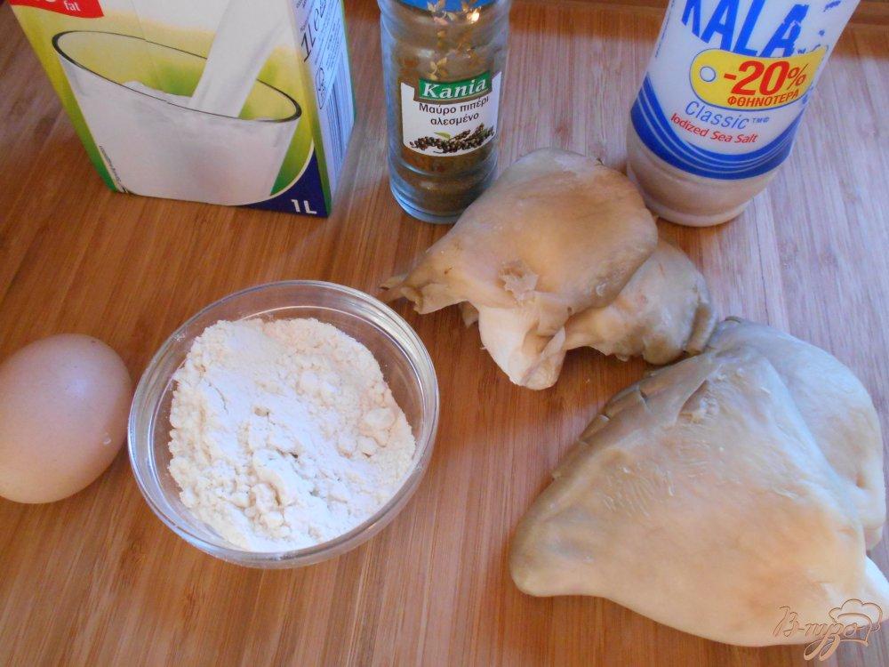 Фото приготовление рецепта: Отбивные из вешенок шаг №1