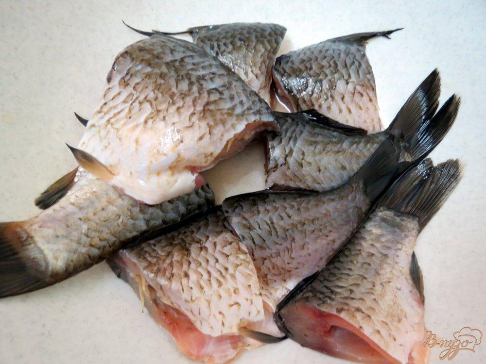 Фото приготовление рецепта: Рыбная похлёбка с пшеном. шаг №8