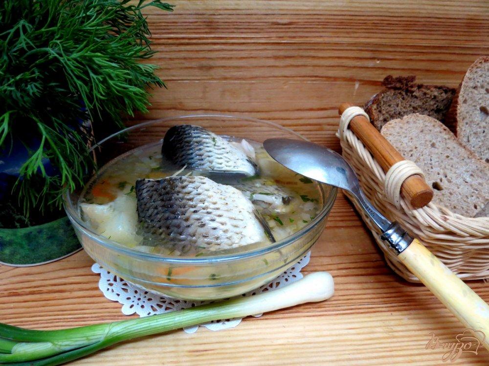 Фото приготовление рецепта: Рыбная похлёбка с пшеном. шаг №10