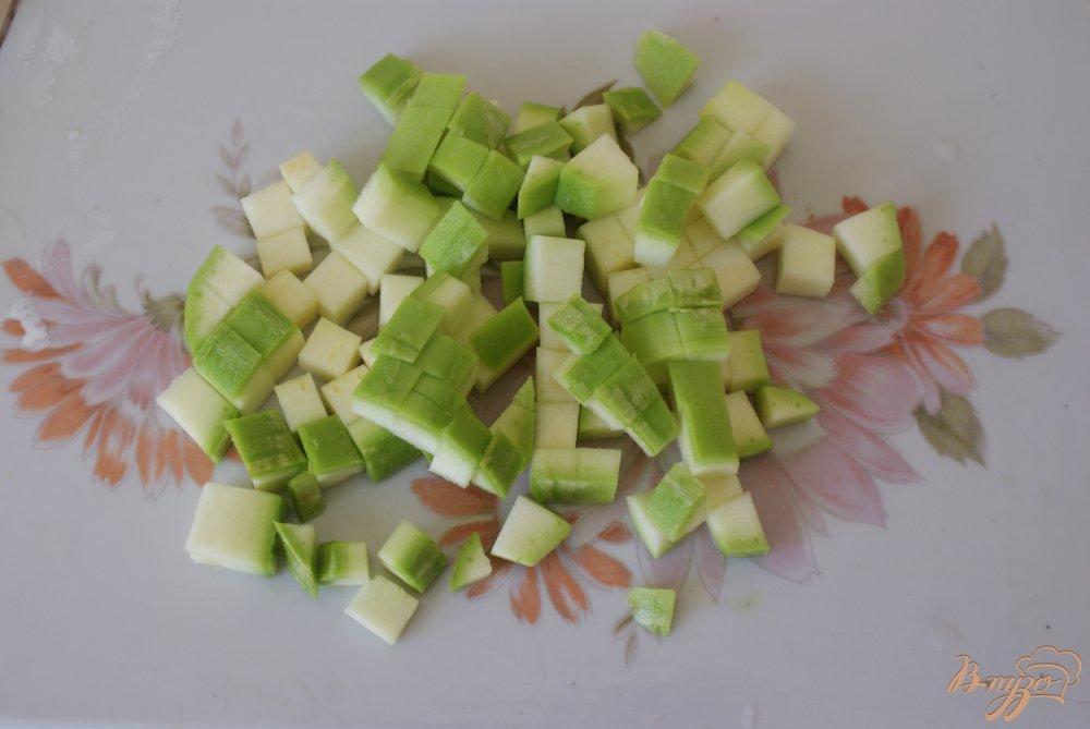Фото приготовление рецепта: Детский овощной суп-пюре с рисом шаг №3