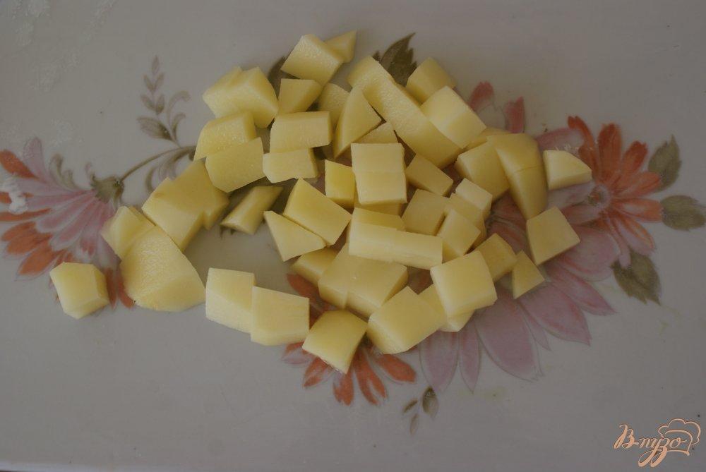 Фото приготовление рецепта: Детский овощной суп-пюре с рисом шаг №2