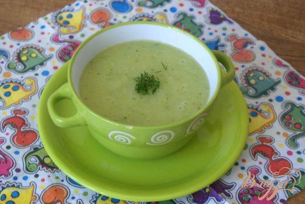 фото рецепта: Детский овощной суп-пюре с рисом