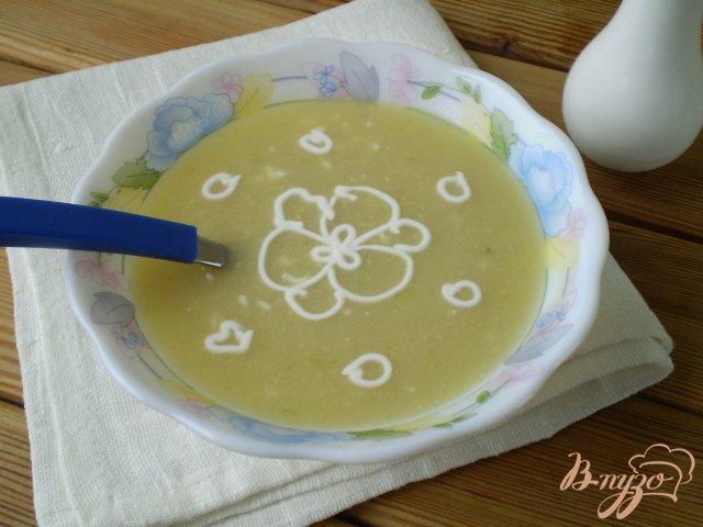 Фото приготовление рецепта: Суп-пюре из минтая шаг №7