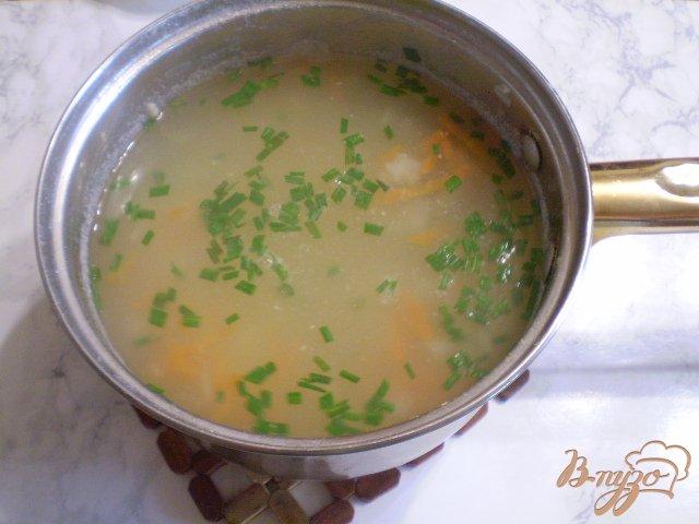 Фото приготовление рецепта: Суп-пюре из минтая шаг №5