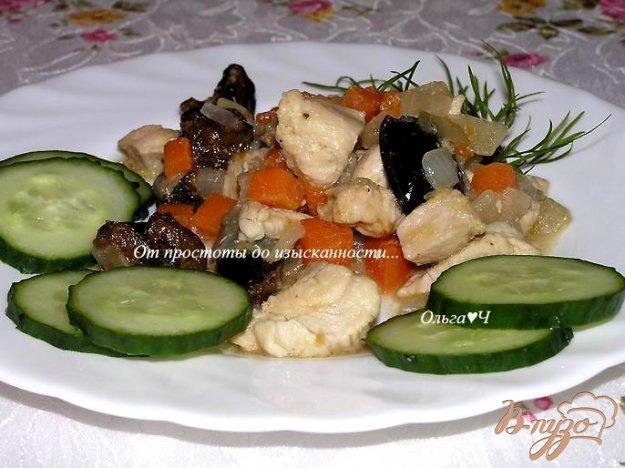 фото рецепта: Куриное филе с черносливом
