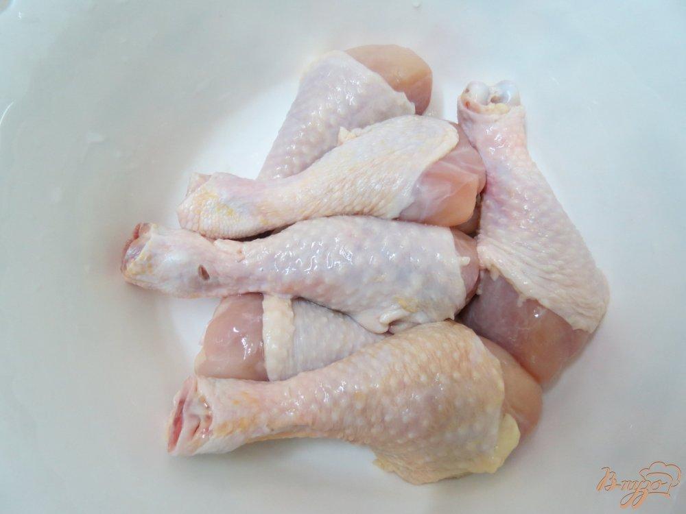 Фото приготовление рецепта: Куриные голени по- китайски шаг №1