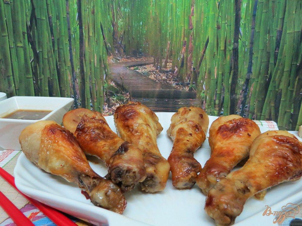 Фото приготовление рецепта: Куриные голени по- китайски шаг №7