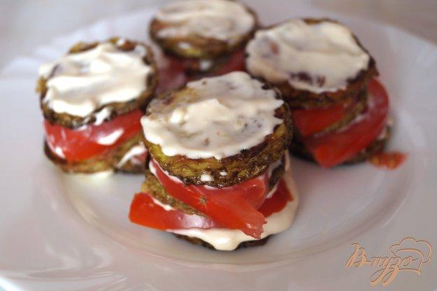 фото рецепта: Кабачки с помидорами и чесноком