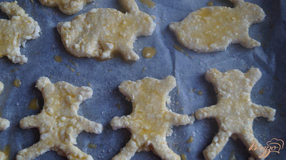 Фото приготовление рецепта: Творожное печенье шаг №6