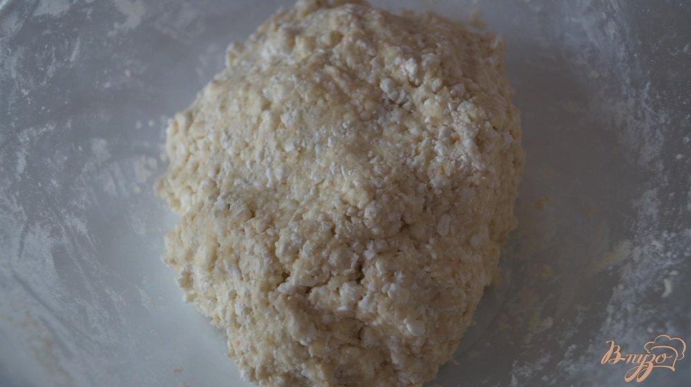 Фото приготовление рецепта: Творожное печенье шаг №3