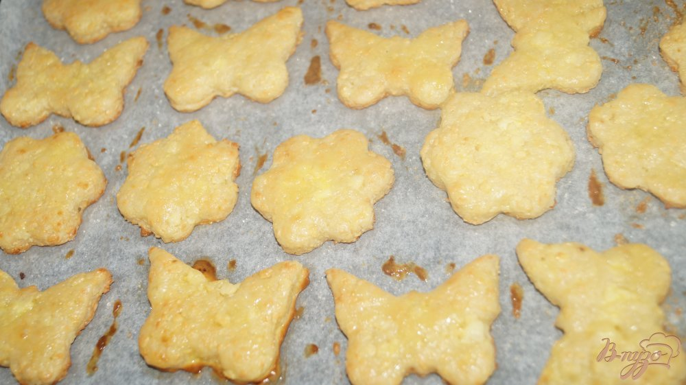 Фото приготовление рецепта: Творожное печенье шаг №7