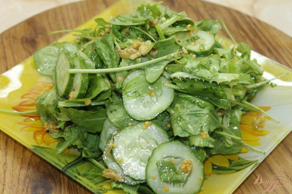 Фото приготовление рецепта: Фреш салат шаг №6