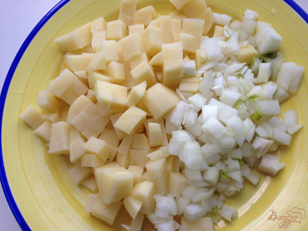 Фото приготовление рецепта: Крем-суп из шпината шаг №2